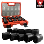 3/4 In. DuoMetric Flank Drive Impact Socket Set