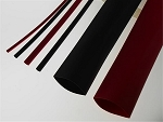 3/16 In x 4 Ft Red Shrink Tubing-5 Pack