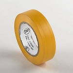 3/4 In. x 50 Ft. Yellow Electrical Tape-10 Pack