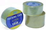 2 In. x 110 yd. Clear Carton Sealing Tape-6 Pack