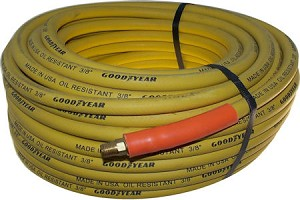 75 Ft. x 3/8 In. Rubber Air Tool Hose