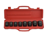 9 Pc 3/4 In. Drive SAE Impact Socket Set