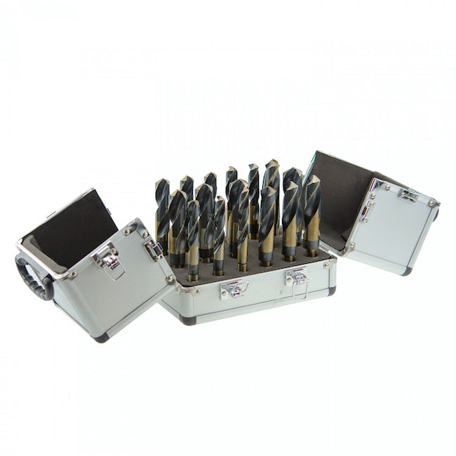 17 pc Silver & Deming Drill Bit Set
