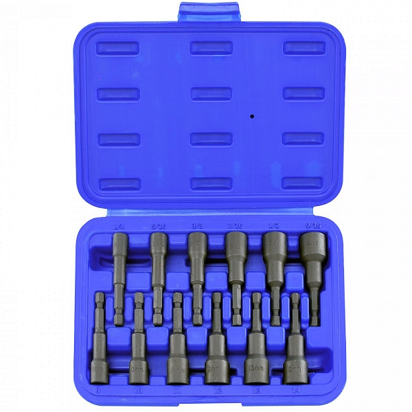 12 Pc Magnetic Nut Driver Set