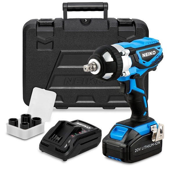 1/2 in. Cordless Impact Wrench-20V Lithium