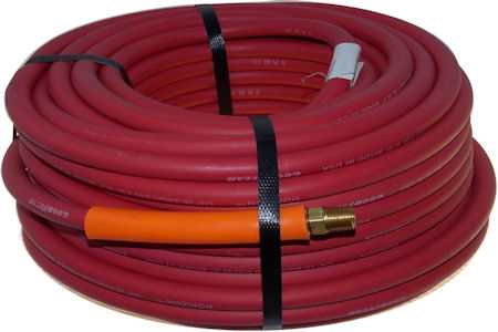 25 Ft. x 1/4 In. USA Rubber Air Tool Hose