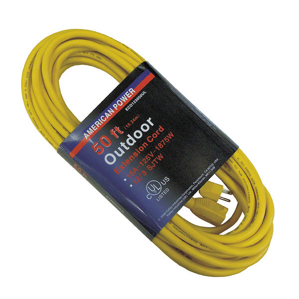 50 Ft. 12 Gauge Extension Cord