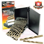 29 Pc Cobalt Drill Bit Set