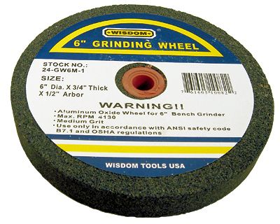 8 In. Stone Wheel for Bench Grinders