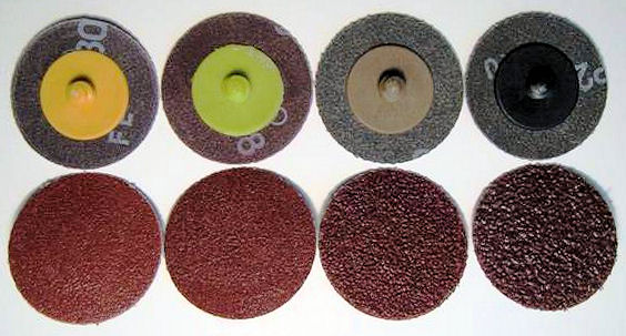 2 in. x 36 Grit Roloc Sanding Disc-50 Pack