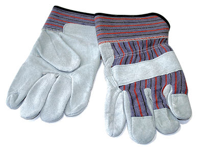 Leather Palm Work Gloves-Dozen