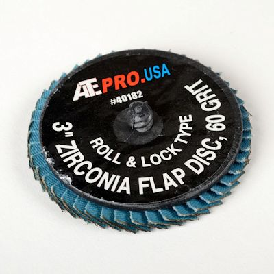 3 In. 80 Grit Quick Change Flap Disc | 10 pack