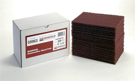 Maroon Scuff Pads-20 Pack