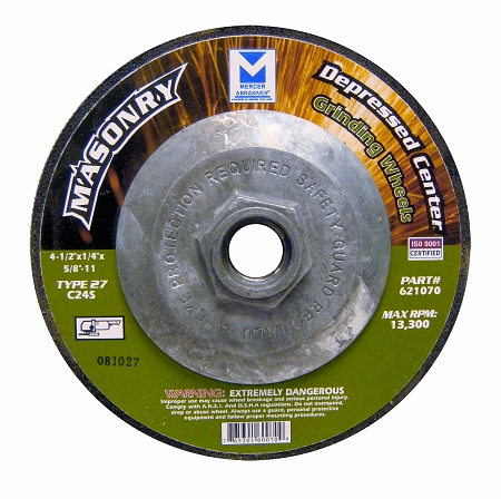 4 1 2 In Masonry Grinding Wheel Hub Rich Tool Systems
