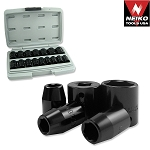 3/8 In. DuoMetric Flank Drive Impact Socket Set