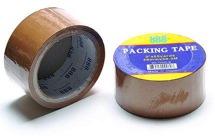 2 in. x 110 yd Tan Carton Sealing Tape-6 Pack
