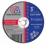 3 in. x 1/16 in. Metal Cut Off Wheel-50 Pack