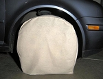 Canvas Wheel Paint Covers-4 Piece