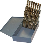 26 Pc Letter Drill Index-Cobalt Steel