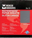 9 x 11 x 180 Waterproof Sanding Sheets-50 Pack