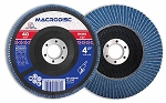 4-1/2 in. 60 Grit Zirconium Flap Disc-10 Pc