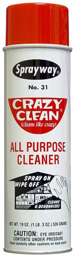 Sprayway Crazy Clean All Purpose Cleaner-12 Pack