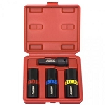 4 pc 1/2 in. Drive Flip Impact Socket Set