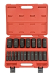 1/2 In. Drive Deep Air Impact Socket Set-SAE