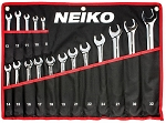17 Pc Metric Combination Wrench Set