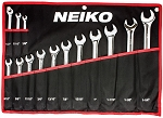 14 Pc SAE Combination Wrench Set