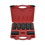 7 Pc Auto Forward Axle Nut Socket Set