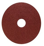 4-1/2 in. 50 Grit Resin Fiber Discs-25 Pack