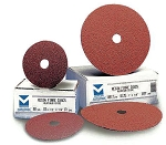 5 in. 50 Grit Resin Fiber Discs-25 Pack