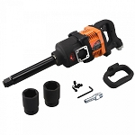 1 In. Drive Air Impact Wrench-Long Shank