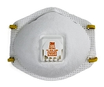 3M N95 Dust Respirator With Valve-10 Pack
