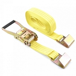 2 In. x 27 Ft. Ratchet Tie Down-Flat Hook