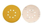6 In. 60 Grit Hook & Loop Discs-8 Hole