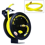 Retracting Air Hose Reel-50 ft. x 3/8 in.