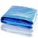 Blue Poly Tarp-12 Ft. x 16 Ft.