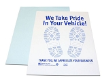 Heavy Duty Paper Floor Mats-500 Pieces
