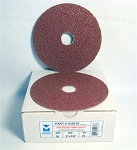 9 in. 60 Grit Resin Fiber Discs-25 Pack