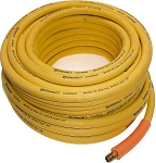 Rubber Air Tool Hose -25 Ft. x 3/8 In.