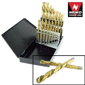 15 Pc Left-Handed Drill Bit Set