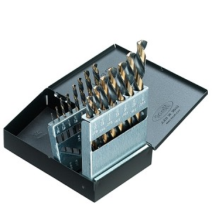 15 Pc Left Hand Drill Bit Set-Industrial
