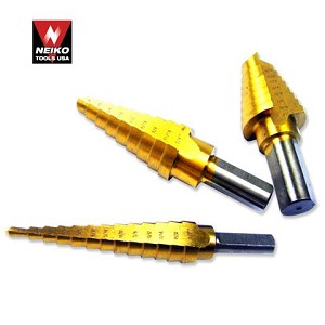 Step Drill Bit 1/4 in.-3/4 in.