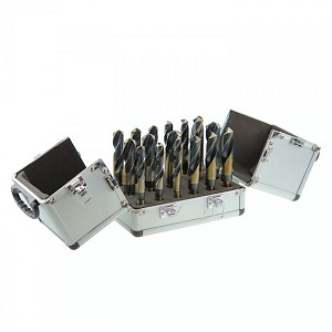 17 Pc Silver & Deming Drill Set