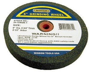 6 In Stone Wheel For Bench Grinder Rich Tool Systems