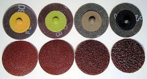 2 in. x 24 Grit Rolok Sanding Disc-50 Pack