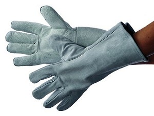 Grey Welding Glove