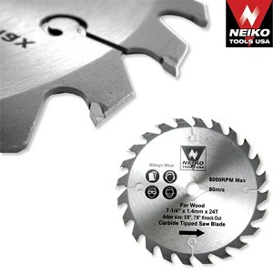 10 In. 40 Tooth Carbide Tipped Saw Blade